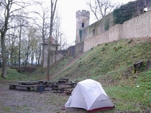 Und das ist mein Campingplatz :)