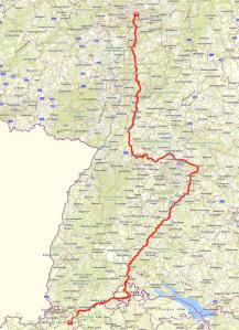 Route FFM - Basel
