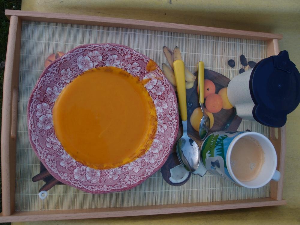 Und einen Teller Suppe gab es noch dazu