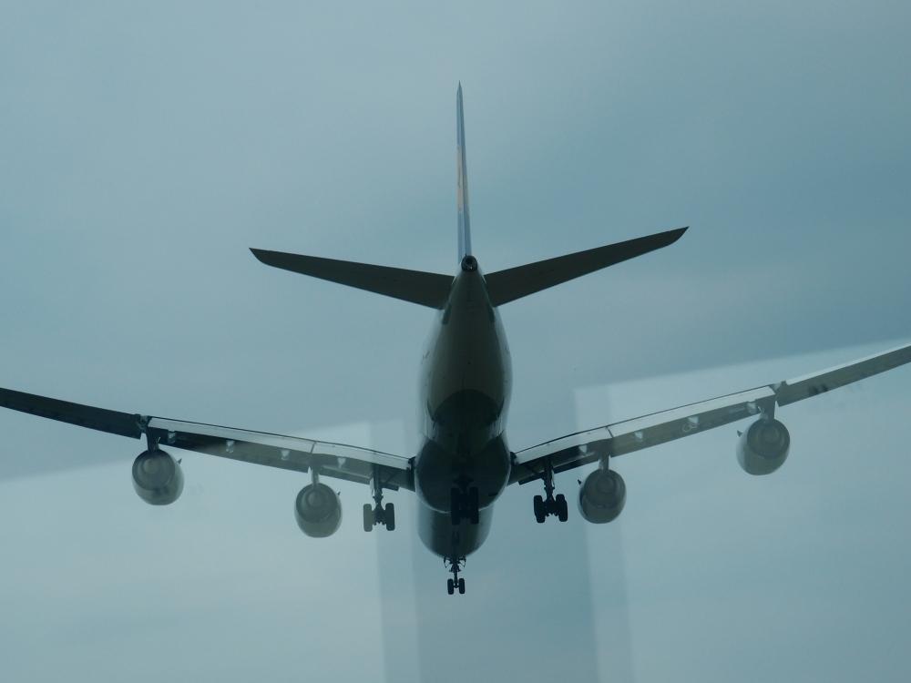 Heute am Flughafen - mittendrin statt nur dabei! Bei der Busrundfahrt auf dem Vorfeld fliegen die metallenen Vögel zum Greifen nahe über unsere Köpfe.