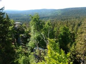 Aussicht vom Rudolfstein