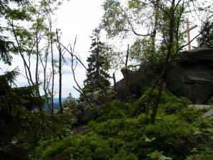 ...und noch höher,  sogar mit Gipfelkreuz, und dann wieder...