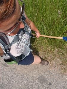Schweißperlen und das erste Mal mit kurzer Hose