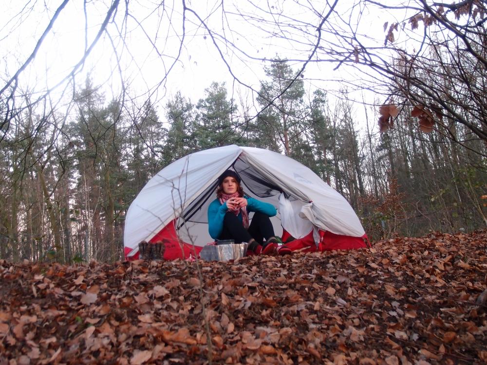 Hat es sich gelohnt, im Winter mit dem Zelt aufs Geratewohl los zu marschieren? Aber hallo, und wie!