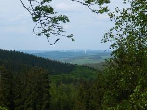 Ausblick von den Trödelsteinen