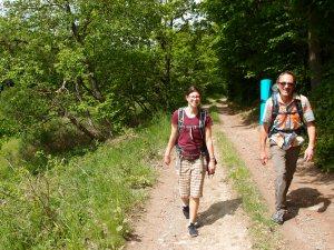 Nina und Papa auf (Ver)Wanderwegen