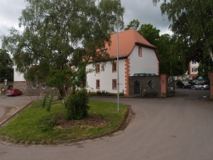 Teil des Klosters Engelthal (von außen)