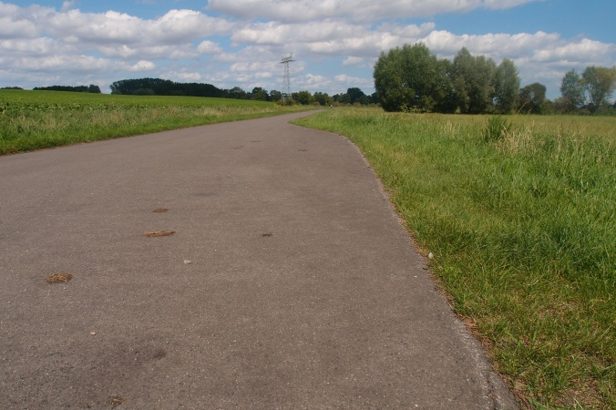 Zurück auf dem Berlin-Usedom-Radweg